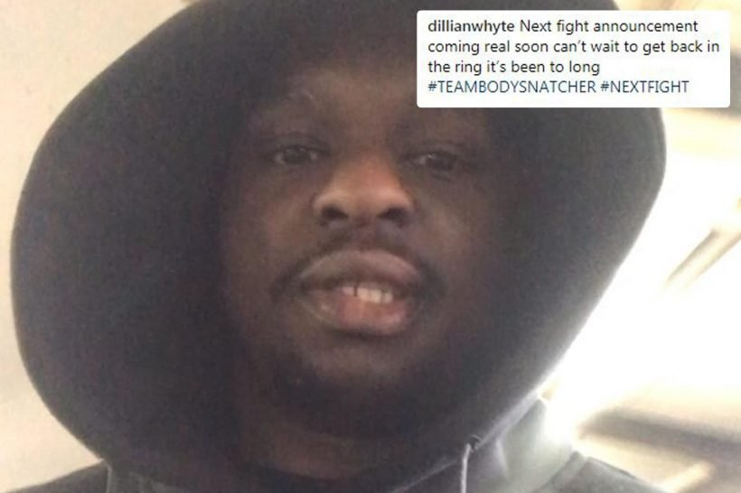 e39c2c01114d Dillian Whyte teases fans as he claims Anthony Joshua fight ...